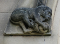 Picture of Stone Carving of Monkey
