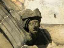 Picture of Carved Headstop with Nice Hat