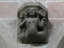 Picture of Mermaid Carving