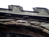 Picture of Stone Carvings on Holywell Church