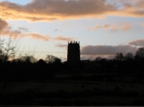 Picture of Silhouette of Northop Church