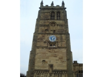 Picture of Clock Tower of Northop Church