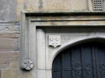 Picture of Tudor Doorway of St Eurgain and St Peter's  Church