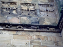 Picture of Stone Carvings on Saint Mary's Mold