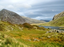 Picture of Pen yr Ole Wen, Llyn Idwal and Ogwen Valley