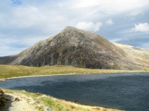Picture of Pen yr Ole Wen and Llyn Idwal