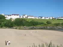 Picture of East Beach at Aberporth