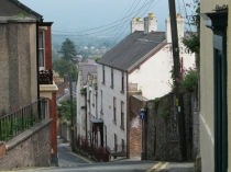 Picture of Steep Hill in Denbigh