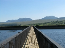 Picture of Trawsfynydd Bridge and the Rhinogs