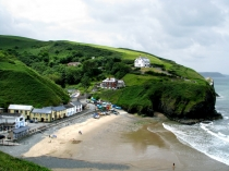 Picture of Llangrannog Beach