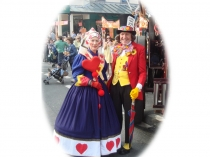 Picture of Victorian fancy dress in the Llandudno Extravaganza