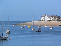 Picture of Deganwy Beach at the Mouth of the River Conwy