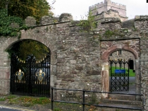 Picture of Gateway to Brecon Cathedral