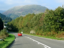 Picture of Road to Dinas Mawddy