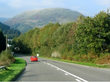 Road to Dinas Mawddy