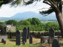 Picture of Welsh Tombs with a View