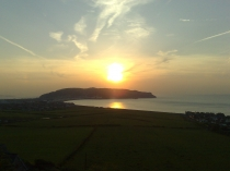 Picture of Great Orme Llandudno at Sunset