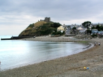 Picture of Criccieth Beach and Castle