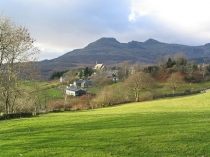 Picture of The Moelwyns and Llan Ffestiniog