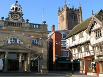 Picture of The Buttermarket and Parish Church Ludlow