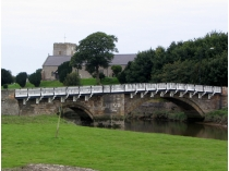 Picture of Church, Bridge and River