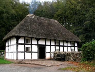 Timber Framed Welsh House at St Fagans