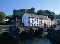 Picture of Haverfordwest Castle and Bridge