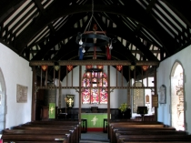 Picture of Nave of St Dygain's Church Llangernyw