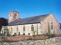 Picture of St Martins Church Eglwysbach