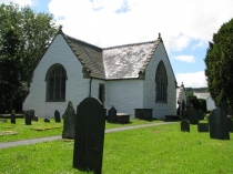 Picture of Rear View of St Dygains Church Llangernyw