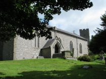 Picture of South Wall of Henllan Church