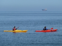 Picture of Sea Kayaks in the Bay of Colwyn