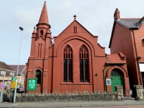 Picture of Red Brick Church in Old Colwyn
