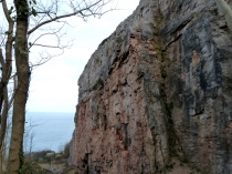 Picture of Cliff Face at  Penmaen Head Climbing Wall