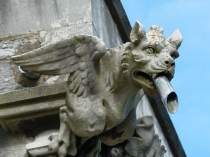 Picture of St Margarets Church Gargoyle