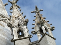 Picture of Carved Stone Heads on the Marble Church