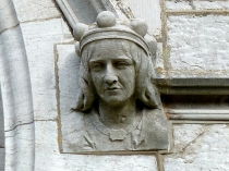 Picture of Stone Carving of Female Head