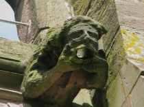 Picture of Gargoyle on Leominster Priory