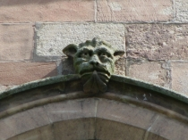Picture of Grotesque Head  on Leominster Priory