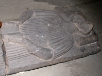 Picture of Stone Effigy of Sir David Hamner