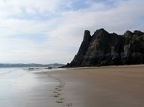 Picture of Three Cliffs Bay