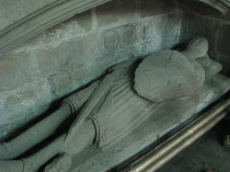 Picture of Stone Effigy in All Saints  Gresford