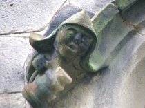 Picture of Carved Head on Gresford Church