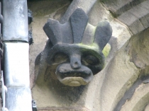 Picture of Demonic Grotesque Stone Carving Wales