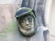 Picture of Bearded Peasant  Carving