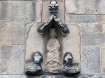 Picture of Eroded Statue of the Virgin