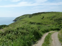 Picture of Start of the Aberdaron to St . Mary's Well Walk