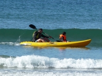 Picture of Sea Kayaking in Aberdaron Wales