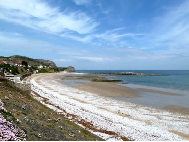 Penrhyn Bay Beach and the Little Orme