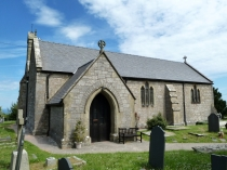 Picture of Saint Cynfrans Church Llysfaen